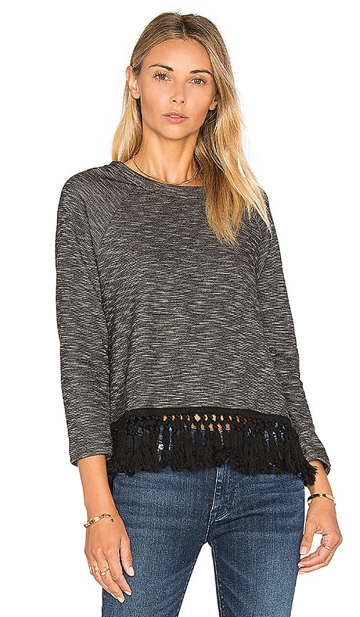BB Dakota Jack By BB Dakota Chang Top in Charcoal
