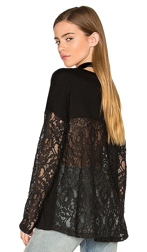 BB Dakota Jack By BB Dakota Juleen Blouse in Black