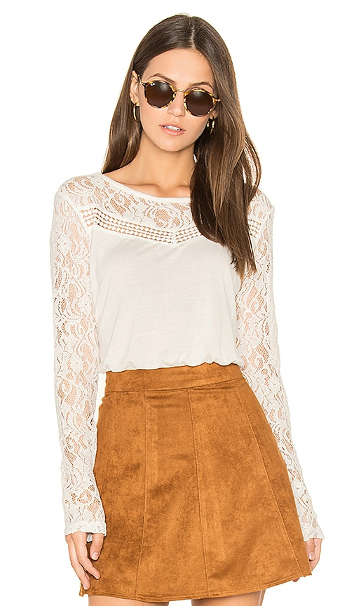 BB Dakota Jack by BB Dakota Carya Top in Ivory