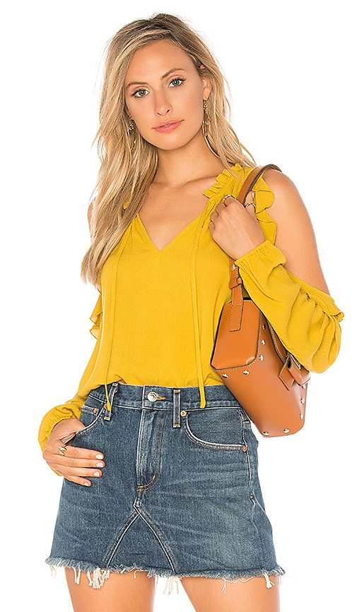 BB Dakota JACK by BB Dakota Ann Top in Yellow