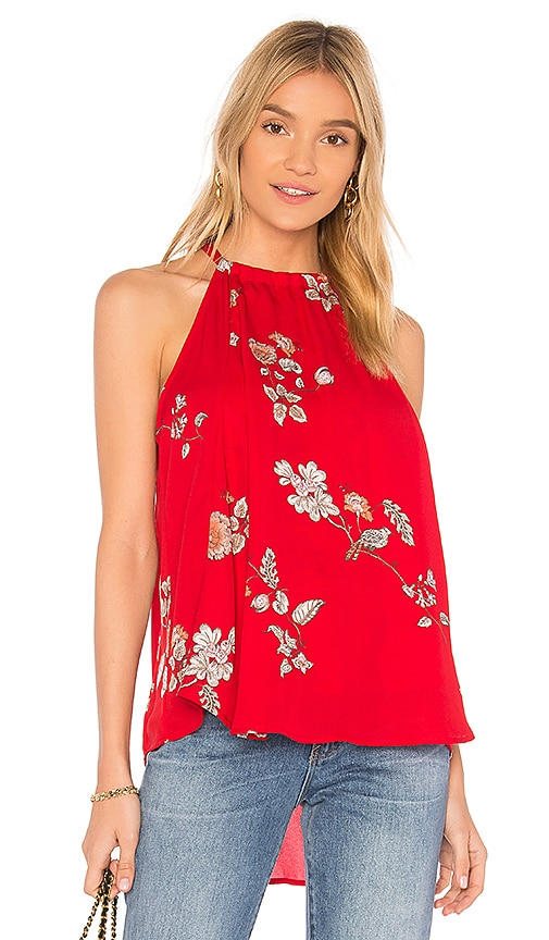 BB Dakota Laura Blouse in Red
