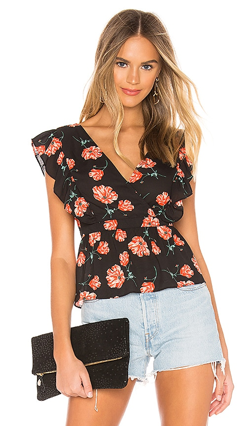 JACK by BB Dakota Poppy Love Top
