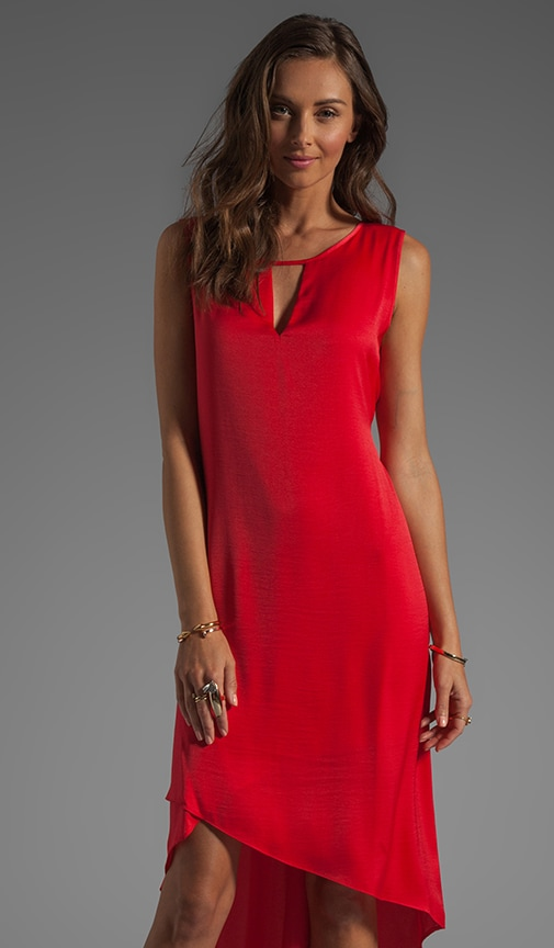 Asymmetrical Hem Dress