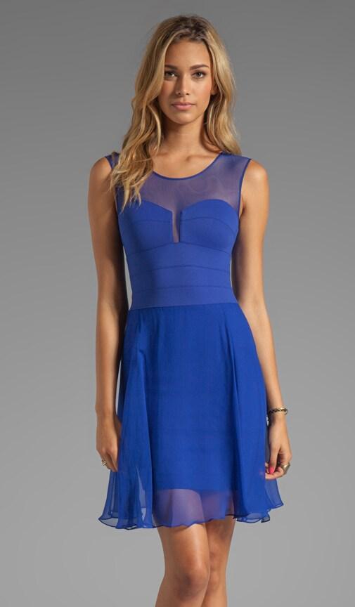 Sheer Combo Dress