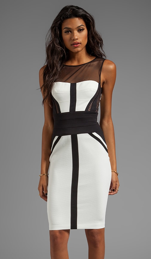Reina Sleeveless Combo Dress