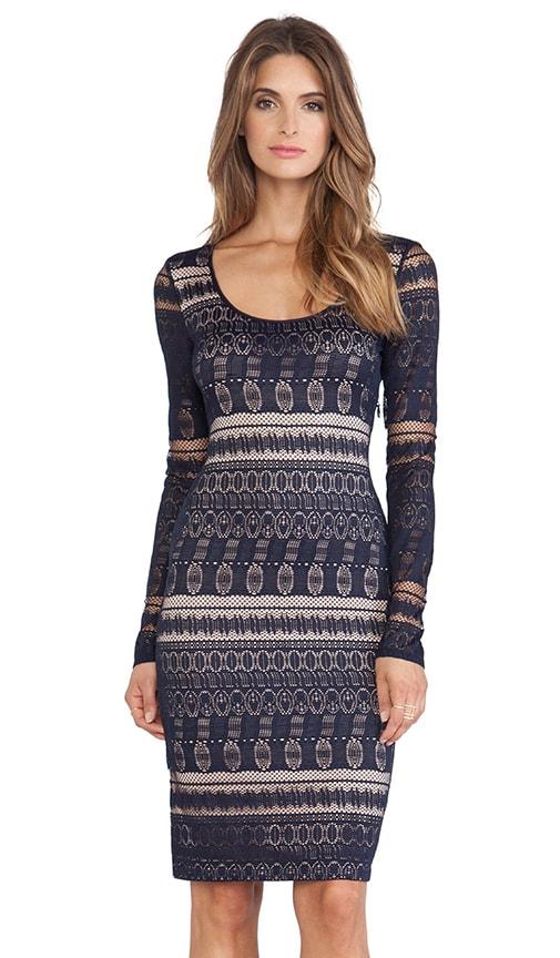 Tayna Lace Round Neck Dress