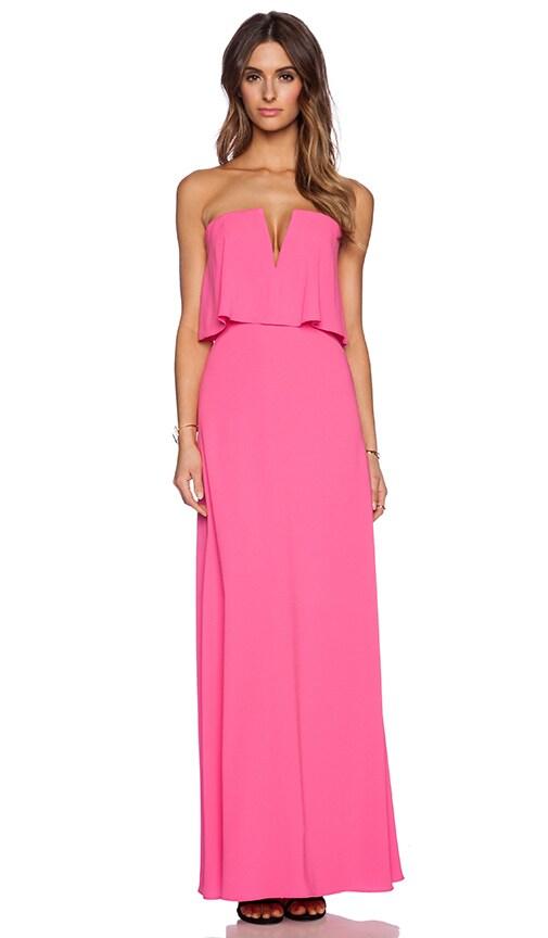 9f574f06c291 BCBGMAXAZRIA Alyse Dress in Neon Pink | REVOLVE