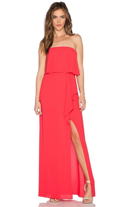 BCBGMAXAZRIA Felicity Dress in Lipstick Red | REVOLVE