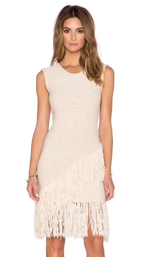Raychull Fringe Midi Dress