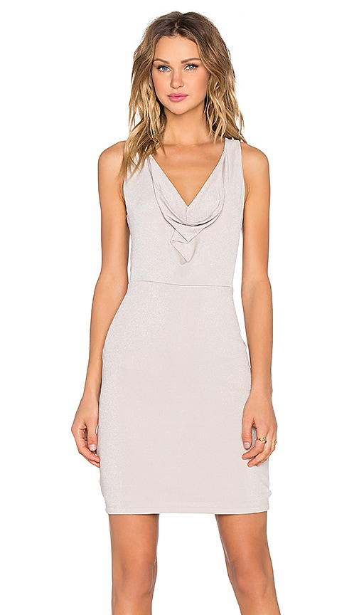 BCBGMAXAZRIA Oriele Dress in Beige