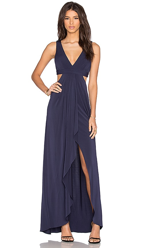 BCBGMAXAZRIA Elinne Dress in Dark Navy
