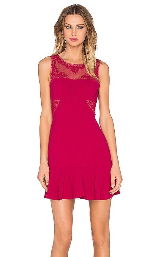 BCBGMAXAZRIA Enida Dress in Red