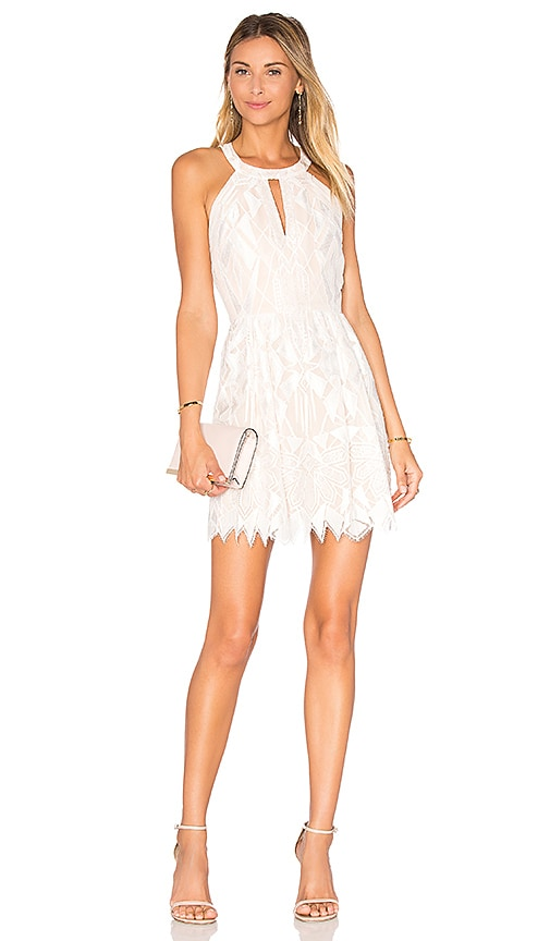 BCBGMAXAZRIA Megyn Dress in White