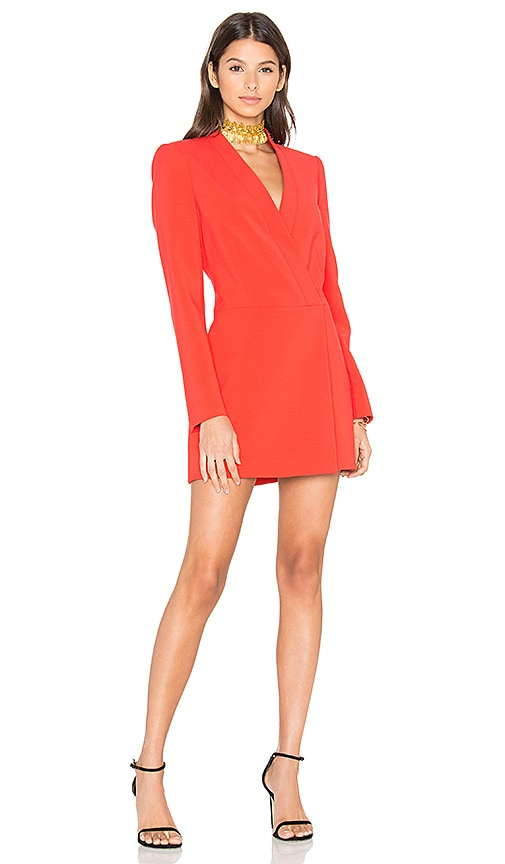 BCBGMAXAZRIA Waleska Dress in Coral