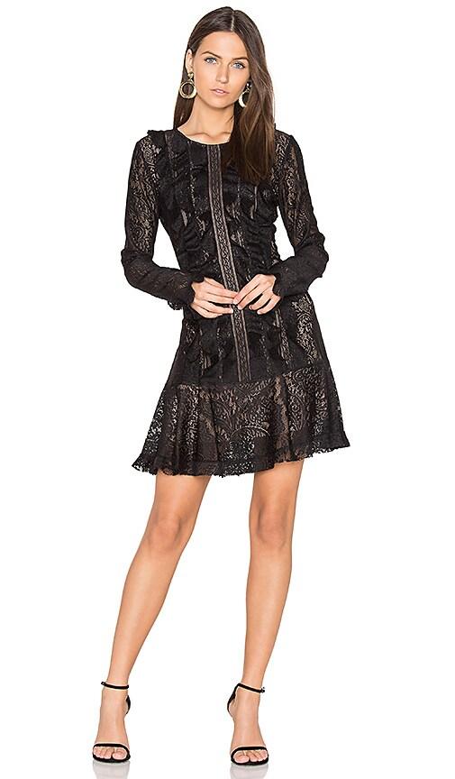 BCBGMAXAZRIA Guinevere Dress in Black | REVOLVE