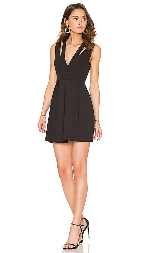 BCBGMAXAZRIA Clayre Dress in Black | REVOLVE
