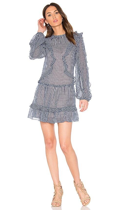 BCBGMAXAZRIA Rosemarie Dress in Blue