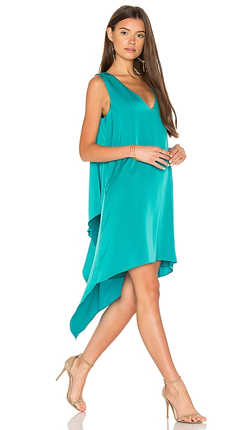 BCBGMAXAZRIA Shana Dress in Turquoise