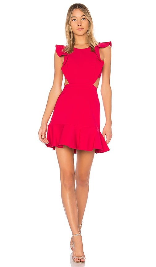 BCBGMAXAZRIA Nicole Dress in Sangria | REVOLVE
