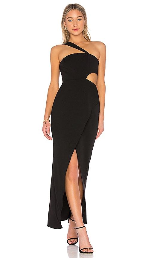 e96ef2eabcf BCBGMAXAZRIA Acasia One Shoulder Dress in Black | REVOLVE