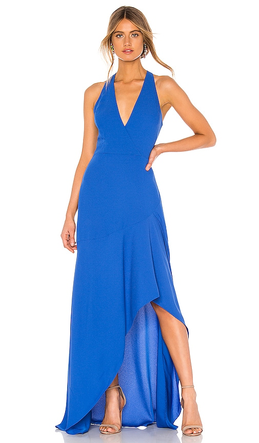 High Low Halter Gown