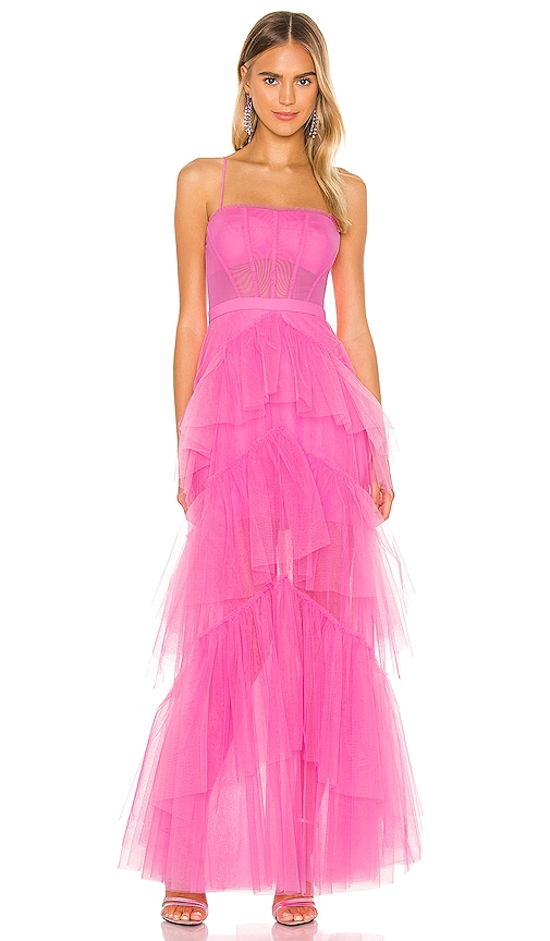 dress with tulle  pink