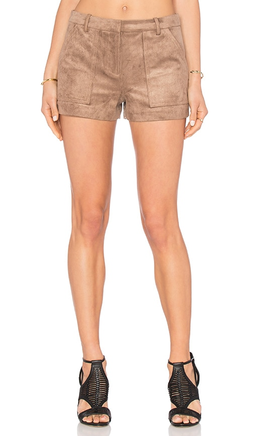 BCBGMAXAZRIA Sergio Short in Brown