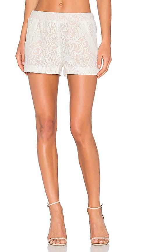 BCBGMAXAZRIA Lilli Short in White