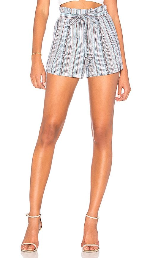 BCBGMAXAZRIA Renee Short in Blue