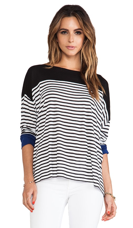Rochelle Striped Top