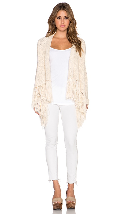 BCBGMAXAZRIA Morgain Sweater in Beige
