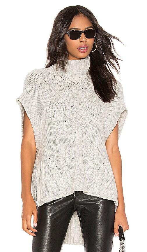 Sleeveless Draped Pullover