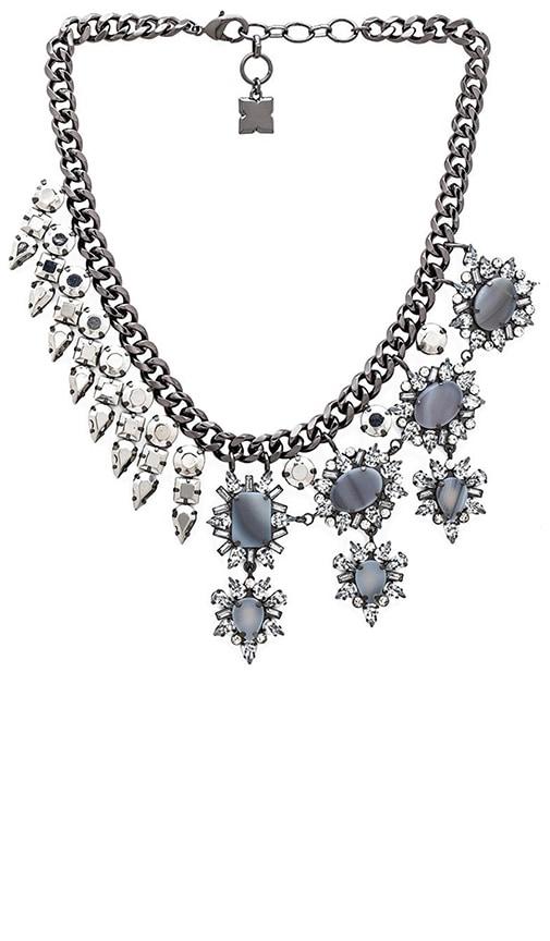 Half Metal Necklace