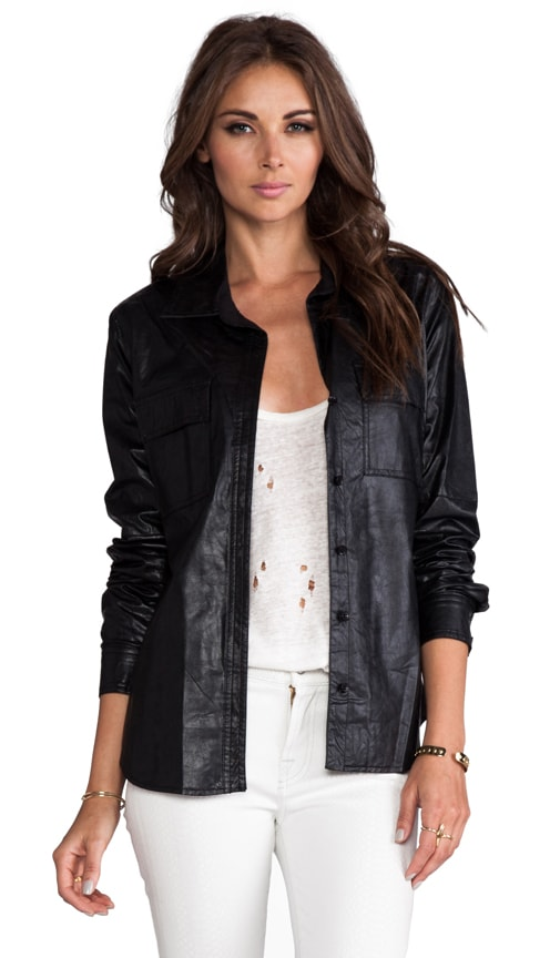 Torey Vegan Leather Jacket