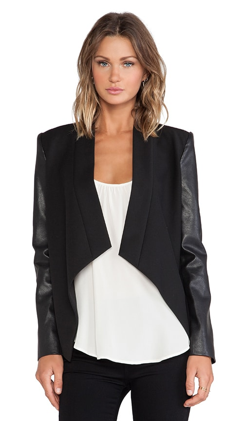 BCBGMAXAZRIA Abree Blazer in Black
