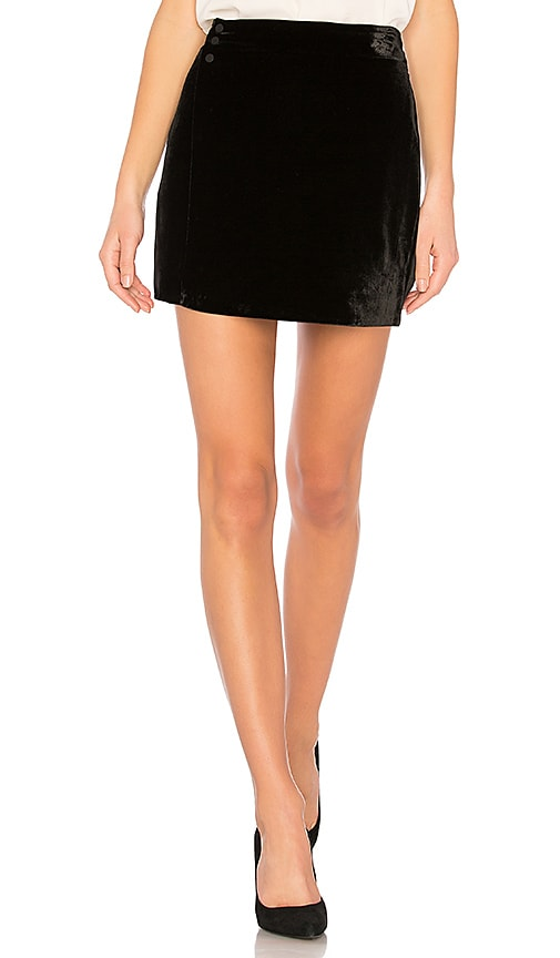 BCBGMAXAZRIA Albie Mini Skirt In Black