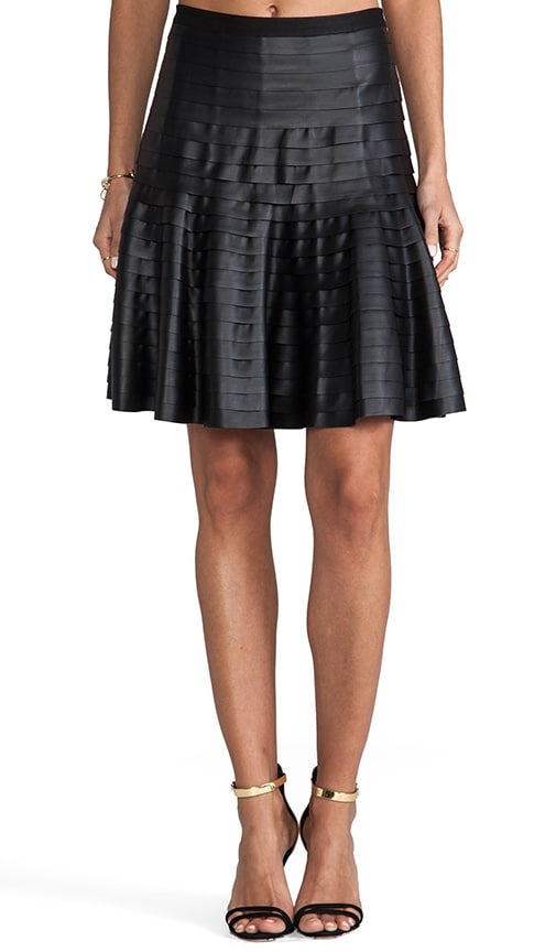Ruffled Circle Skirt