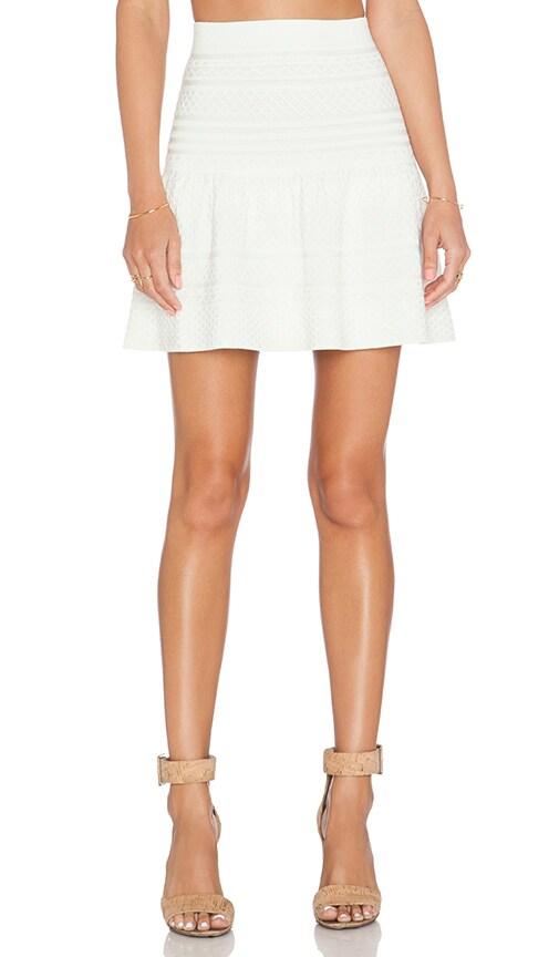 BCBGMAXAZRIA Anea Skirt in Gardenia