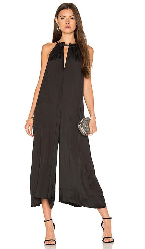 Bcbgmaxazria Wide Leg Jumpsuit In Black Revolve