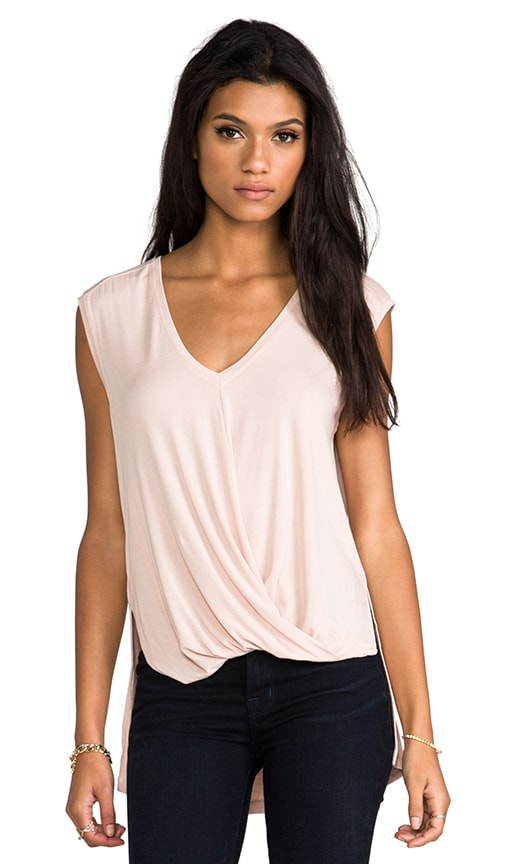 V-neck Drape Top