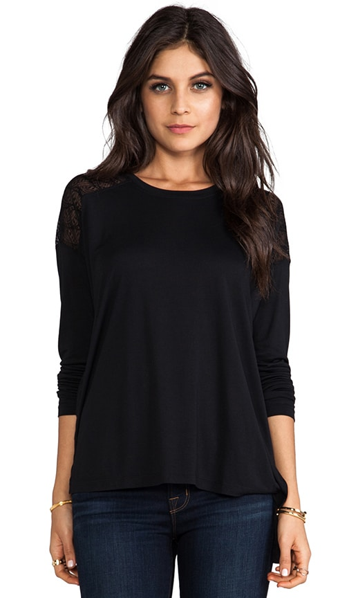 Long Sleeve Combo Top