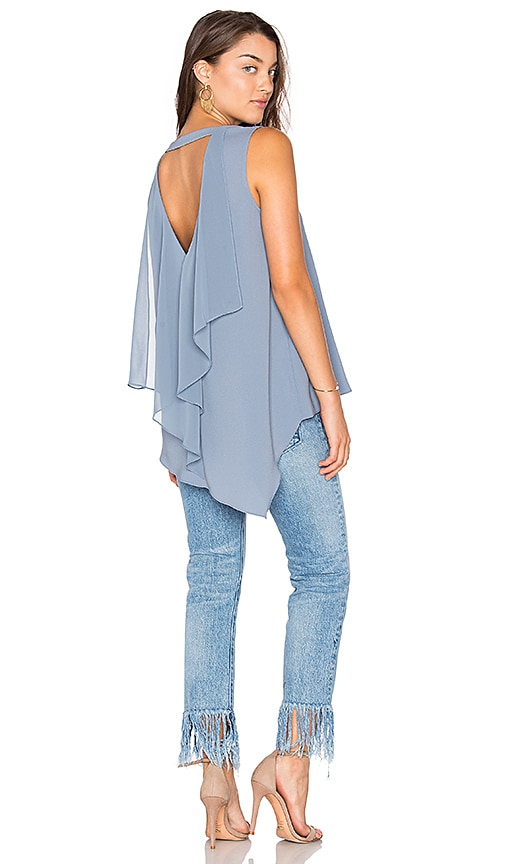 BCBGMAXAZRIA Tayloir Tank in Blue