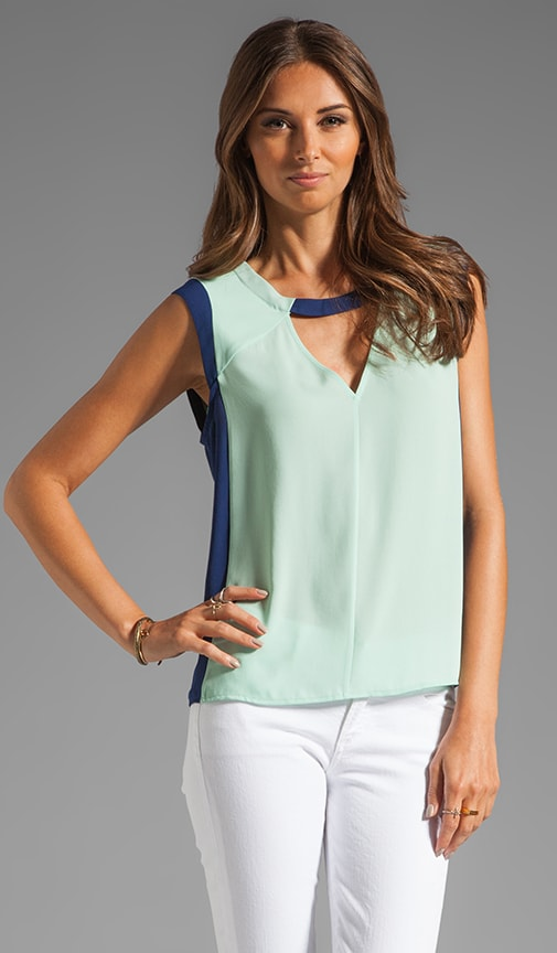 Triangle Cut Out Tank