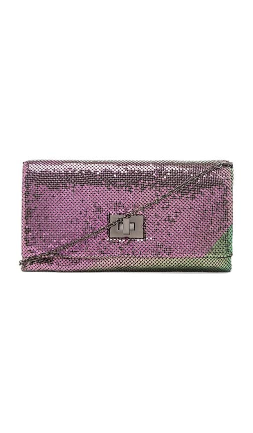 Blake Metal Mesh Turnlock Clutch