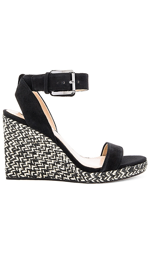 BCBGMAXAZRIA Lola Wedge in Black