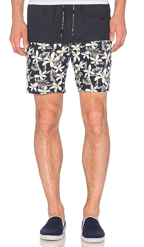Barney Cools Tide Walk Short in Navy