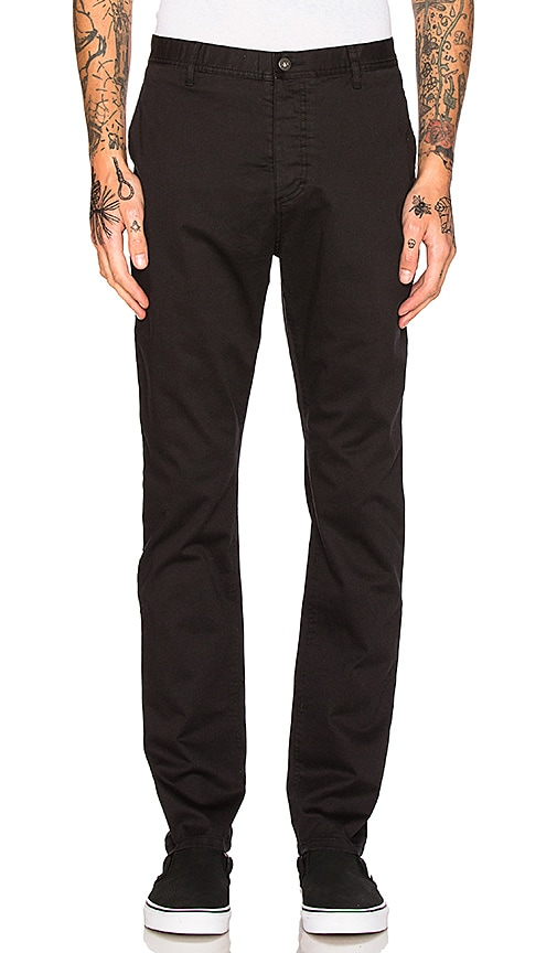 Barney Cools B. Line Chinos in Black