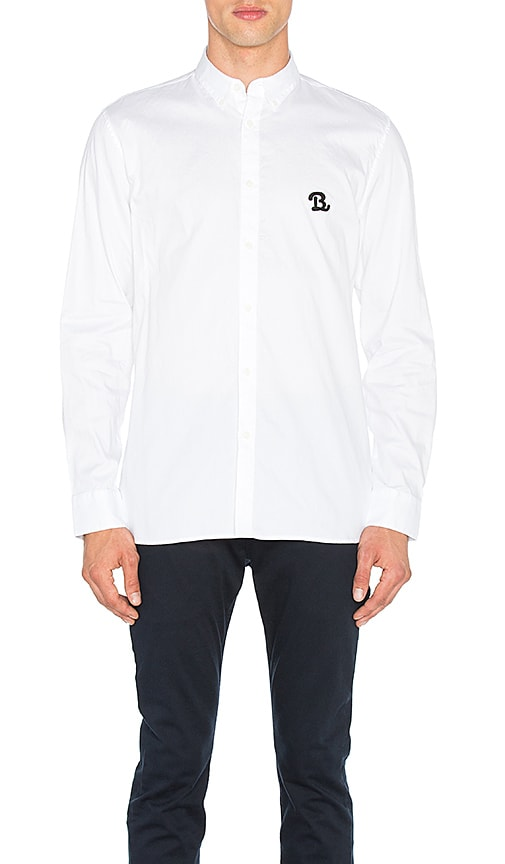 Barney Cools B Schooled Oxford Shirt in White