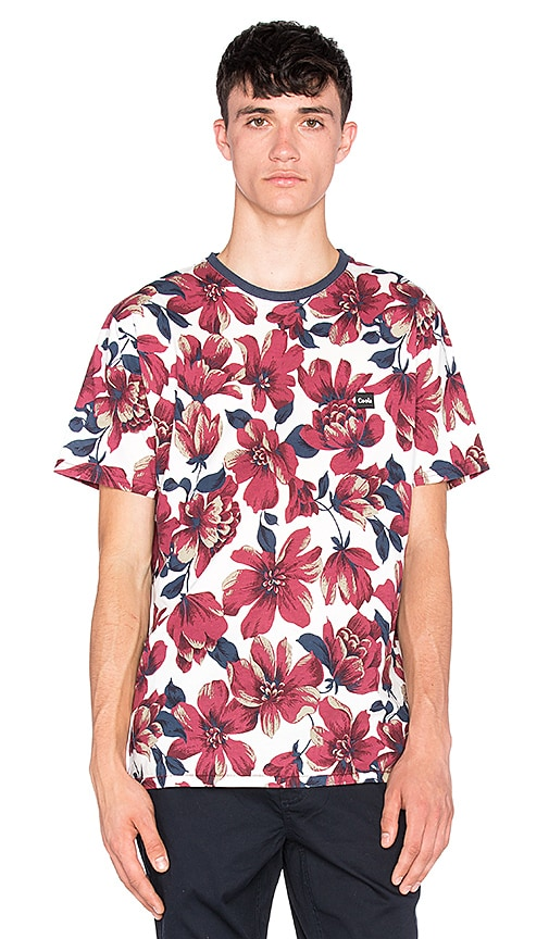 Barney Cools Floral Tee in White Floral