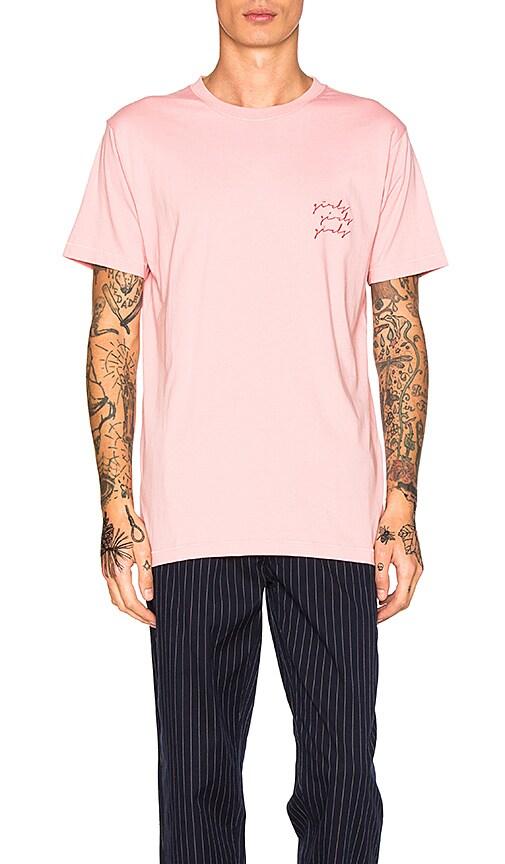 Barney Cools Girls Girls Girls Tee in Pink